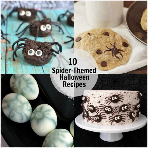 10 Spider Themed Halloween Recipes