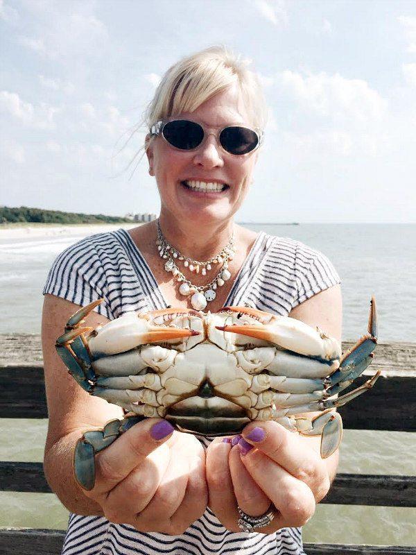 Myrtle Beach State Park Crabbing