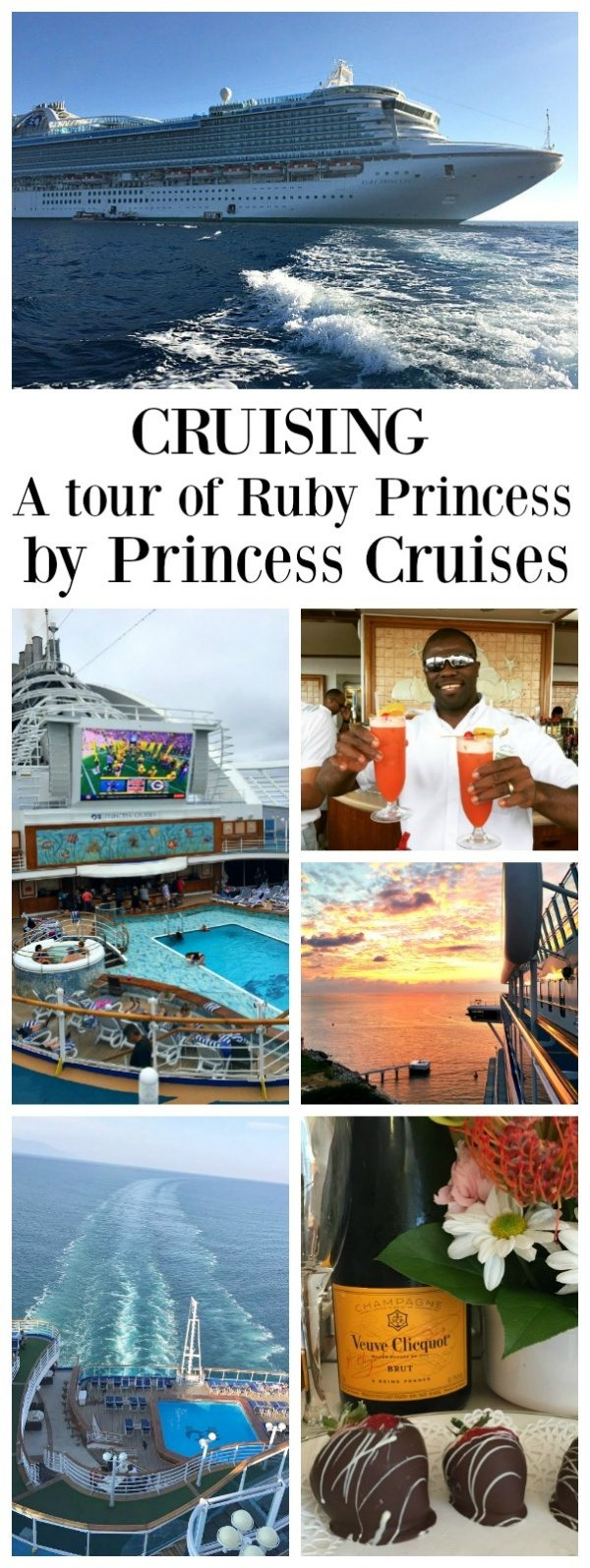 Tour of The Ruby Princess from Princess Cruises - a peek at the staterooms and a tour of the rest of the ship.