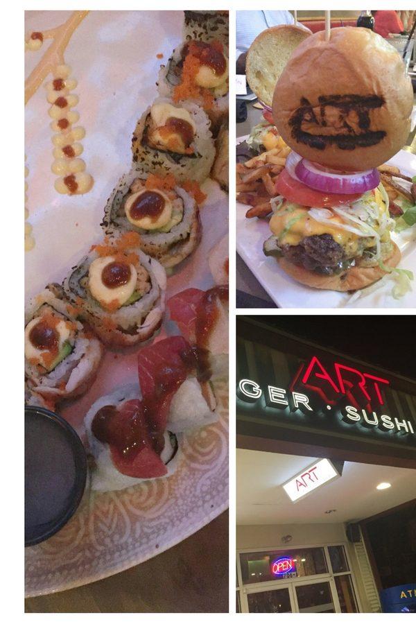 Art Burger Sushi