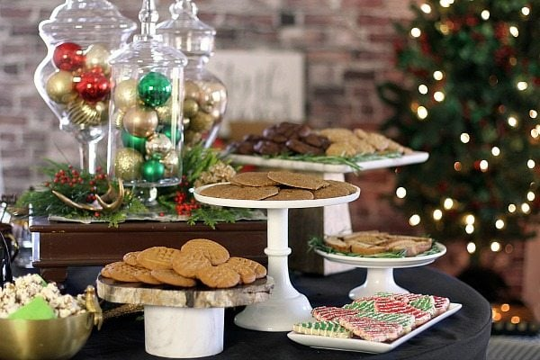 Holiday Cookie Exchange Party Menu Recipe Girl