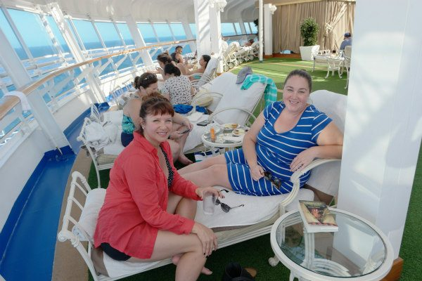 Princess Cruises Relaxing Hideaway: The Sanctuary