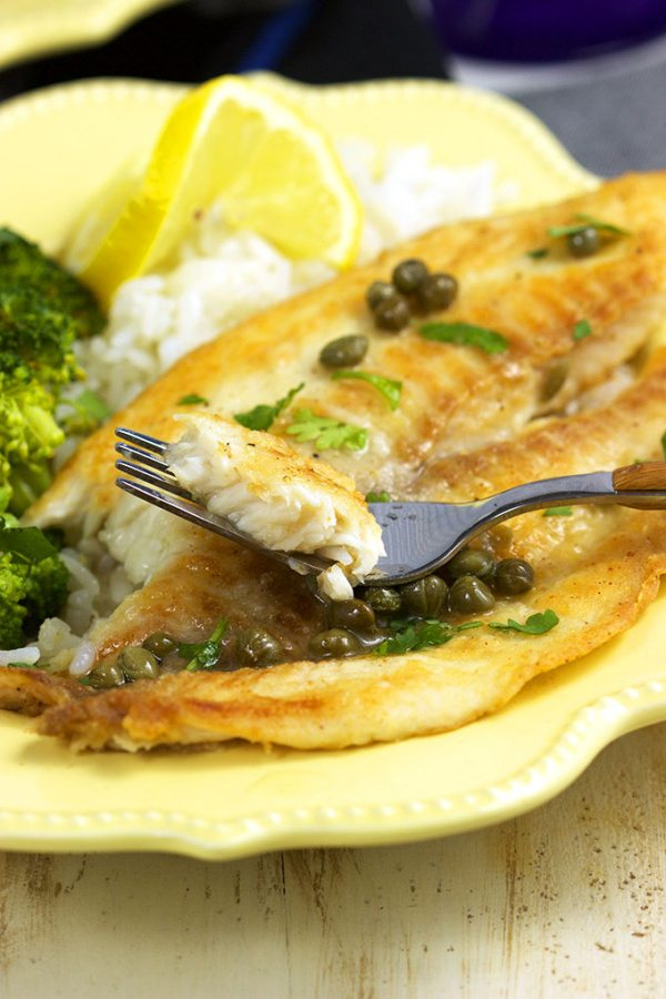 Ready in 10 minutes, this Easy Tilapia Piccata from RecipeGirl.com is ...