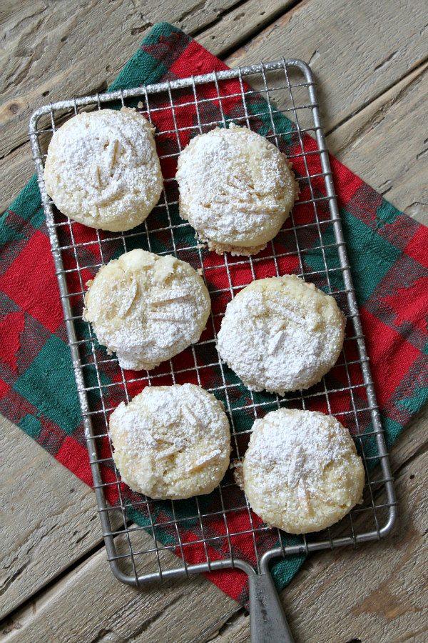 Almond Dream Cookies recipe - by RecipeGirl.com