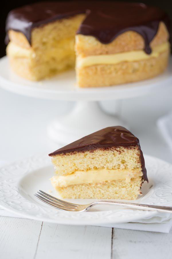 Boston Cream Pie from RecipeGirl