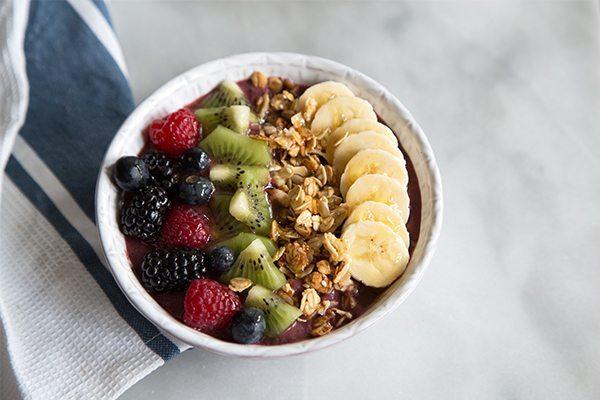 Acai Berry Bowl recipe - from RecipeGirl.com