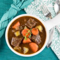 Beef & Guinness Stew - inspirationkitchen