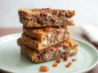 Bacon Swiss Patty Melt