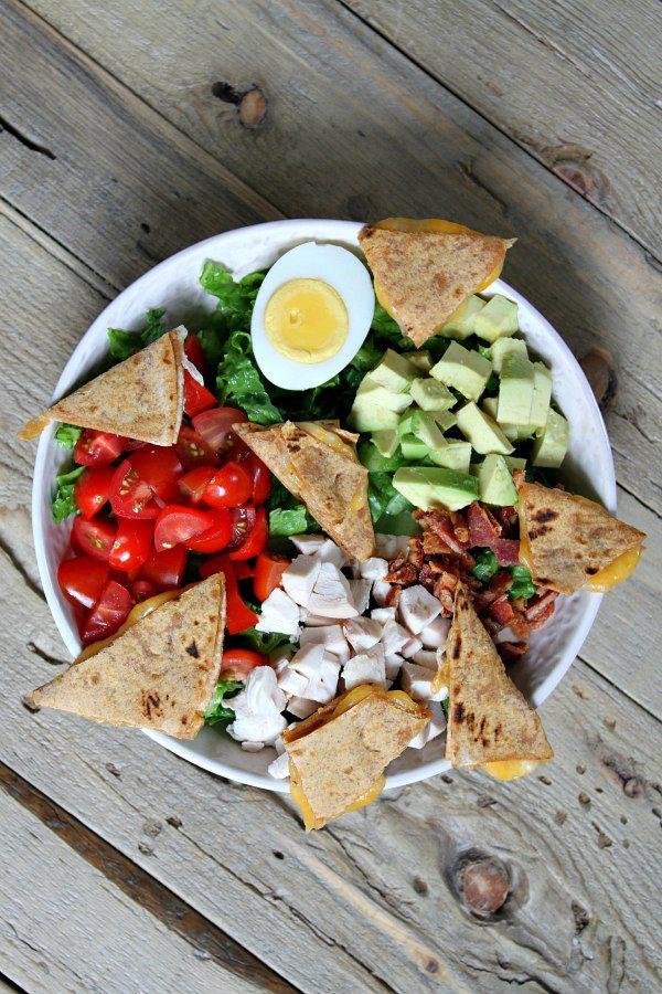 Quesadilla Cobb Salad