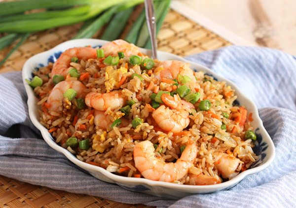 Easy Shrimp Fried Rice Recipe Recipe Girl