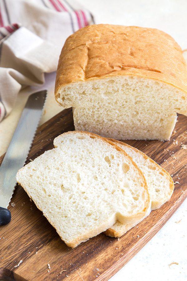 Classic White Sandwich Bread recipe - from RecipeGirl.com