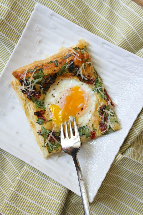 Baked Italian Egg Pastries - recipe from RecipeGirl.com