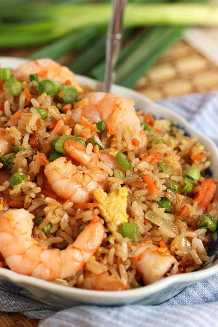 Easy, classic recipe for Shrimp Fried Rice