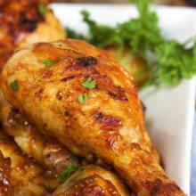 Carolina Style Barbecue Chicken leg