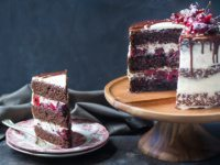 Black Forest Cake by @bakingamoment