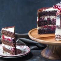 Black Forest Cake by @bakingamoment