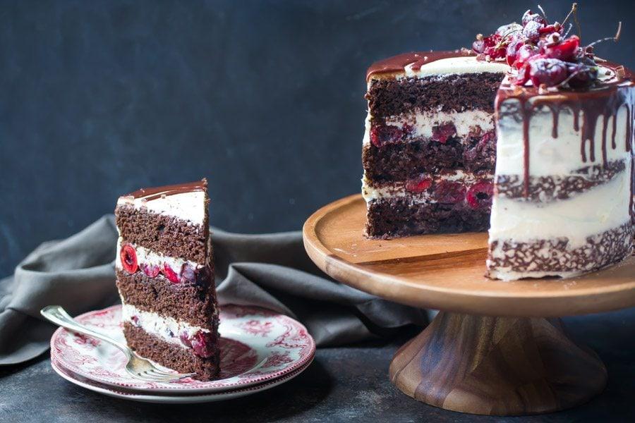 Black Forest Cake Recipe Girl