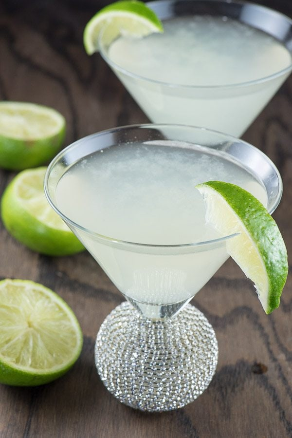 Classic Daiquiri Cocktail Recipe - from RecipeGirl.com