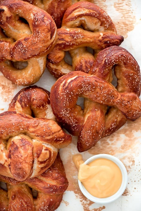 Recipe for How to Make Soft Pretzels - by RecipeGirl.com