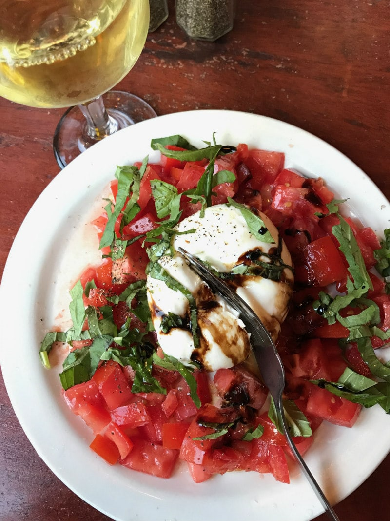 Caprese Salad at Giacomos, North End Boston