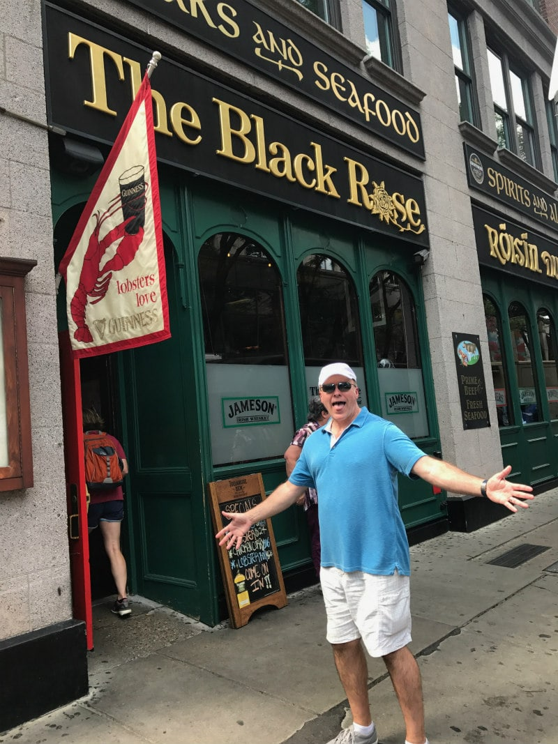The Black Rose, Boston