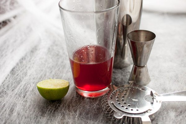 Tequila Vampire Cocktail recipe - from RecipeGirl.com