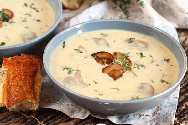 Cream Of Mushroom Soup Recipe Girl