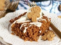 Gingerbread Baked Oatmeal from TheSuburbanSoapbox.com