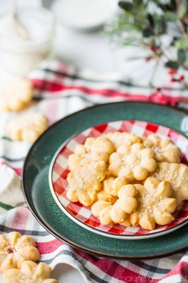Classic Spritz Cookies recipe - from RecipeGirl.com