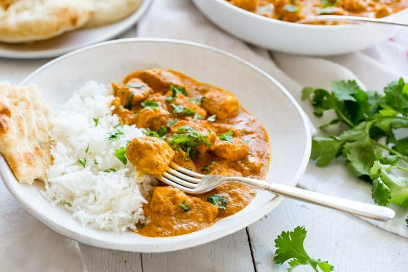 Indian Butter Chicken Recipe Recipe Girl