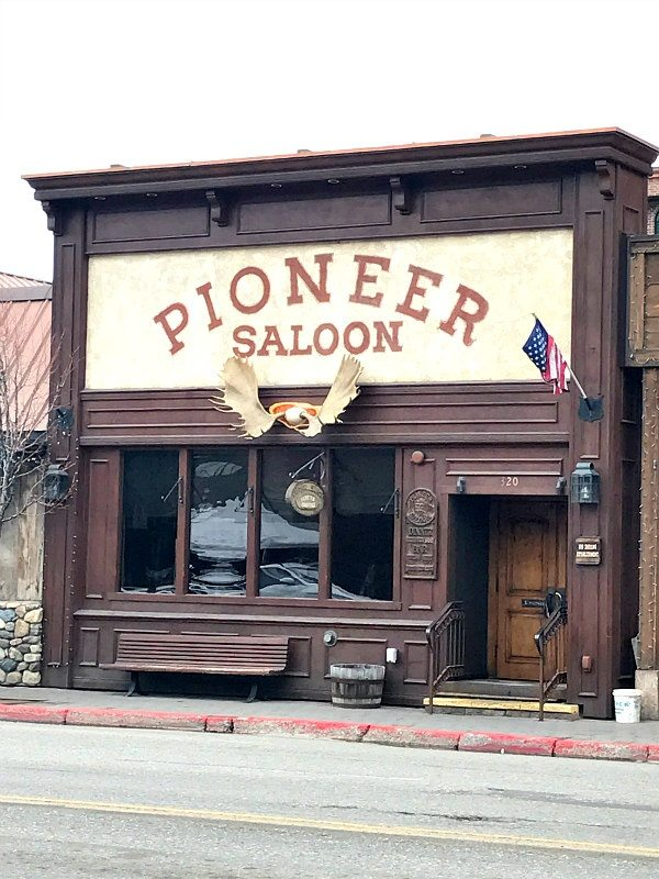 Pioneer Saloon in Sun Valley, Idaho