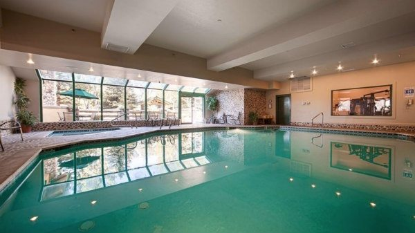 Best Western Kentwood Lodge Pool in Sun Valley, Idaho