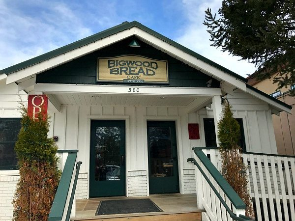 Bigwood Bread Cafe in Sun Valley, Idaho
