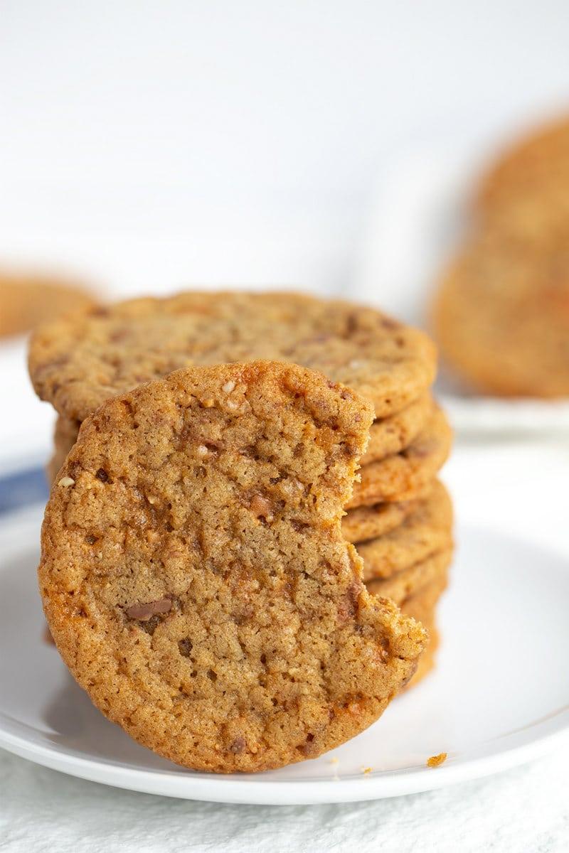 bite of Butterfinger Cookies