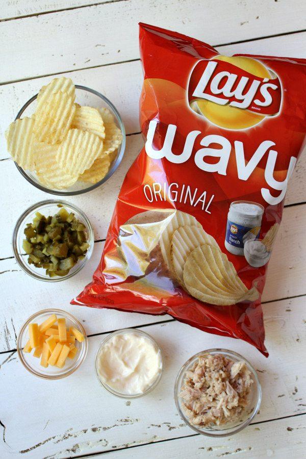 How to make Potato Chip Bruschetta : Ingredients for Potato Chip Bruschetta