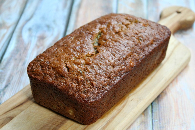 Loaf of Pineapple Zucchini Bread