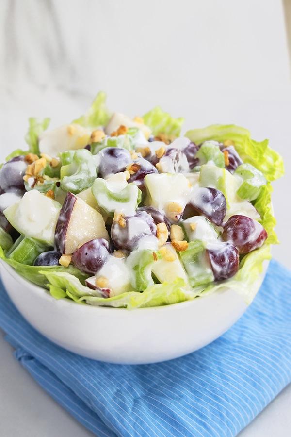 bowl of Waldorf Salad