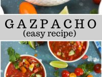pinterest collage image for gazpacho