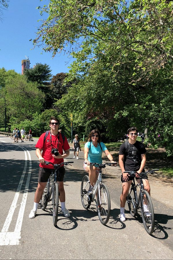 Bicycling in Central Park