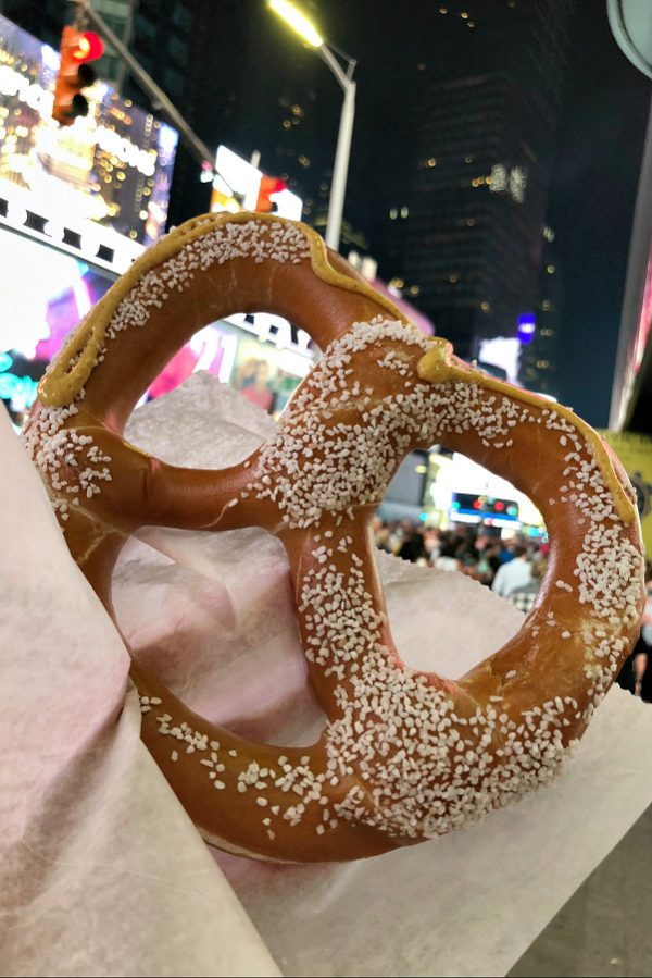 Pretzels in Times Square