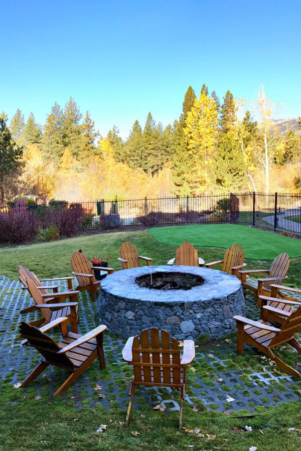 Hyatt Incline Village Nevada S'Mores Fire Pit