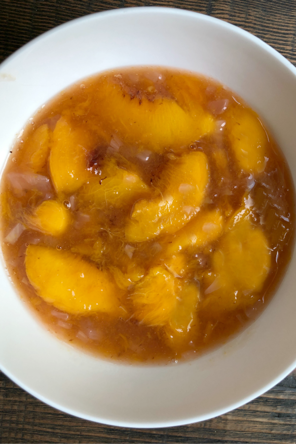 Peach Sauce for Pork with Peach Sauce