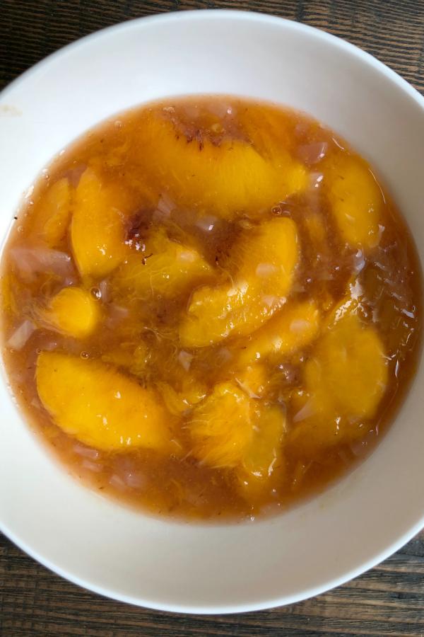 Peach Sauce for Pork with Peach Sauce