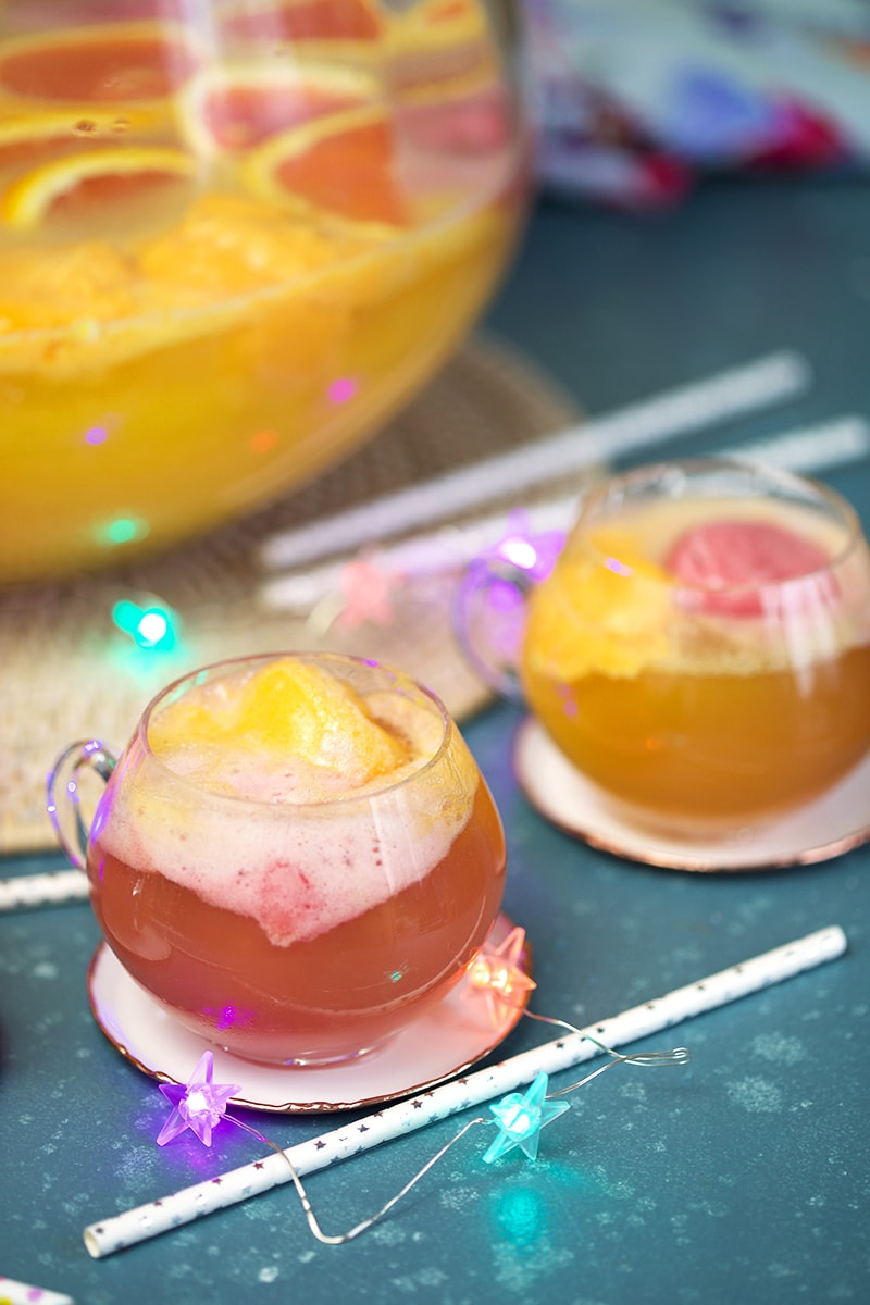 Champagne Mimosa Punch