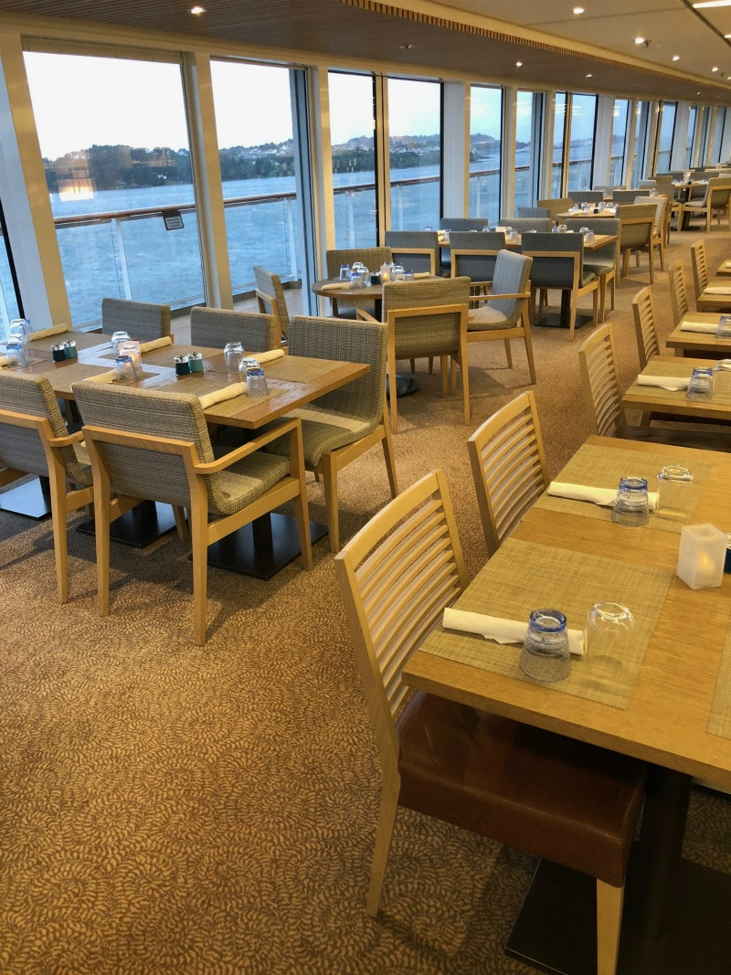 The World Cafe on The Viking Star