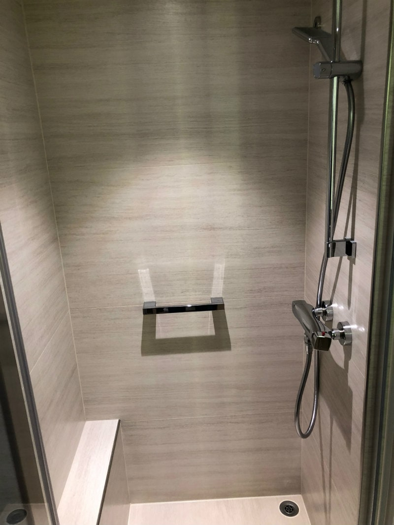 Shower on The Viking Star