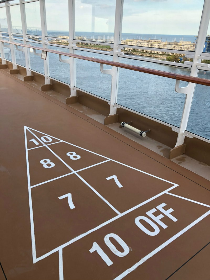 Shuffleboard on The Viking Star