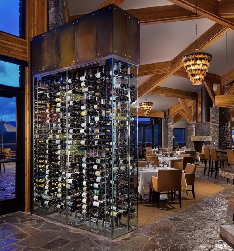 Wine Wall by Innovative Wine Cellar Designs