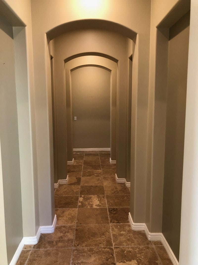 Hallway Remodel in Scottsdale, Arizona
