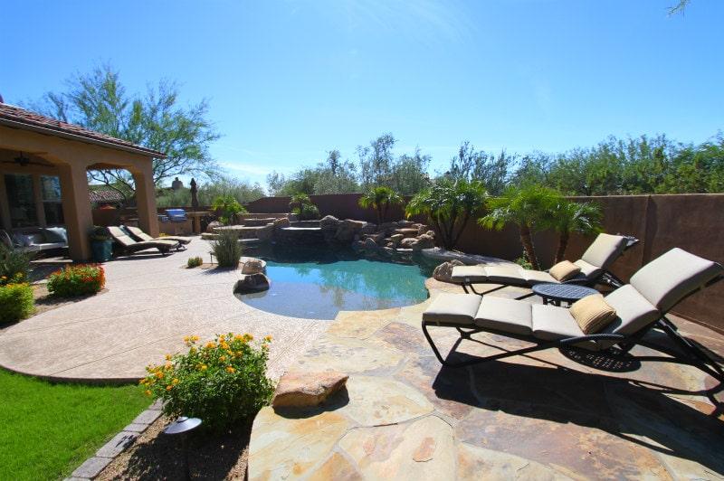 Backyard Living in Scottsdale, Arizona